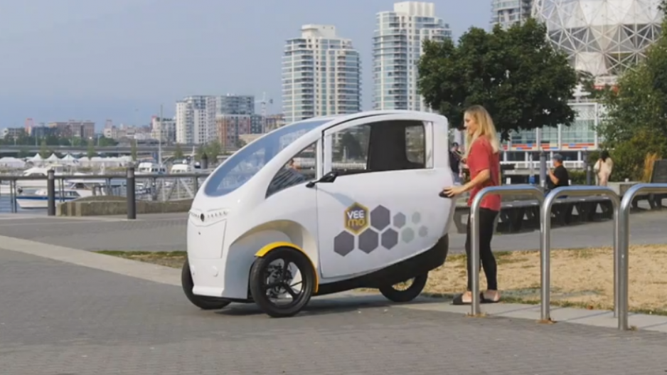 VeloMetro launches Veemo velomobile-sharing service at UBC