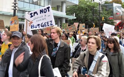 Climate Strike in Vancouver, BC